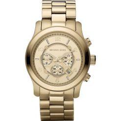 Zegarek MICHAEL KORS - Runway MK8077 Gold/Gold. Żółte zegarki damskie marki Michael Kors. Za 1159,00 zł.
