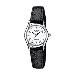 Zegarek Casio damski Berina Quartz czarny (LTP-1154E -7B). Czarne zegarki damskie CASIO. Za 99,00 zł.