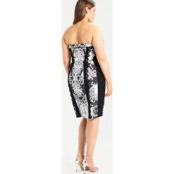 Sukienki hiszpanki: City Chic AFFAIR Sukienka etui black