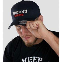 Czapki męskie: Ground Game Sportswear Czapka z daszkiem męska Shield czarna r. L/XL (CAPSHIELDLXL)