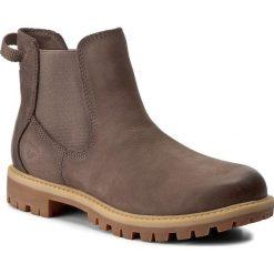 Sztyblety TAMARIS - 1-25401-29 Cigar 314. Szare buty zimowe damskie marki Tamaris, z materiału. W wyprzedaży za 239,00 zł.