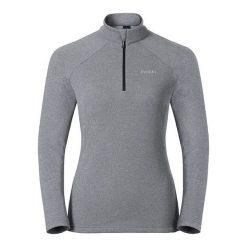 Odlo Bluza damska Midlayer 1/2 zip Snowbird szara r. XL (222001). Szare bluzy damskie Odlo, xl. Za 90,90 zł.