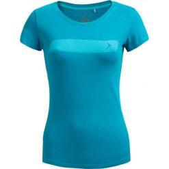 T-shirt damski TSD606 - morska zieleń - Outhorn. Zielone t-shirty damskie Outhorn, z bawełny. W wyprzedaży za 24,99 zł.