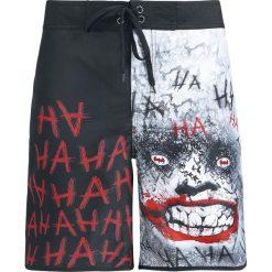 The Joker Hahaha Kąpielówki czarny/biały. Czarne kąpielówki męskie marki Black Premium by EMP. Za 144,90 zł.