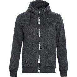Czarna Bluza Admiring. Czarne bluzy męskie rozpinane marki Born2be, l, z aplikacjami, z dresówki. Za 99,99 zł.