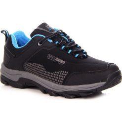 Buty trekkingowe damskie: Czarne buty trekkingowe wodoodporne DK