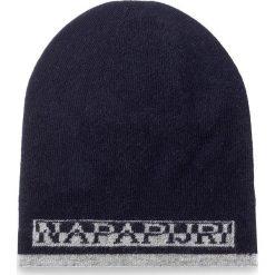 Czapka męska NAPAPIJRI - Foss N0YGSD176 Blu Marine 176. Niebieskie czapki męskie Napapijri, z kaszmiru. W wyprzedaży za 179,00 zł.
