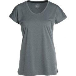 ASICS CAPSLEEVE Tshirt z nadrukiem dark grey heather. Szare topy sportowe damskie Asics, xs, z nadrukiem, z materiału. Za 149,00 zł.