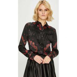 Desigual - Koszula. Brązowe koszule wiązane damskie Desigual, l, z poliesteru, eleganckie, z długim rękawem. Za 499,90 zł.