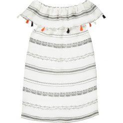 Sukienki dziewczęce z falbanami: Sukienka, etniczny wzorek i pompony 3-12 lat