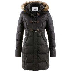 Płaszcz pikowany (lekki puch) bonprix czarny. Czarne płaszcze damskie pastelowe bonprix, z puchu. Za 269,99 zł.