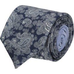 Krawat winman granatowy classic 208. Niebieskie krawaty męskie Recman, z bawełny, klasyczne. Za 129,00 zł.