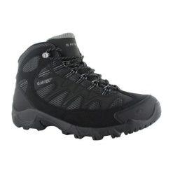 Buty trekkingowe męskie: Hitec Multiplex Buty Męskie Trailstone Wp Black/charcoal/cool Grey r. 40