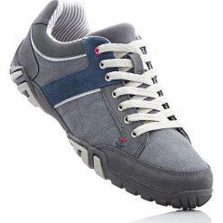 Skórzane buty sportowe bonprix szary. Szare buty skate męskie bonprix, na sznurówki. Za 119,99 zł.