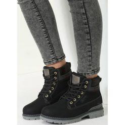 Czarne Traperki Excellent Cap. Czarne buty zimowe damskie marki vices. Za 89,99 zł.