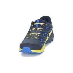 Buty Dziecko Salomon  SPEEDCROSS J. Szare buty sportowe chłopięce marki Salomon, z gore-texu, na sznurówki, outdoorowe, gore-tex. Za 230,30 zł.