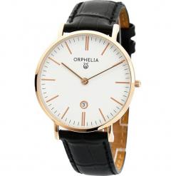 Zegarek kwarcowy w kolorze czarno-biało-różowozłotym. Czarne, analogowe zegarki męskie Esprit Watches, ze stali. W wyprzedaży za 181,95 zł.