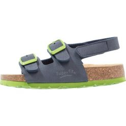 Superfit FUSSBETTPANTOFFEL Sandały ocean. Niebieskie sandały męskie skórzane marki Superfit. Za 129,00 zł.