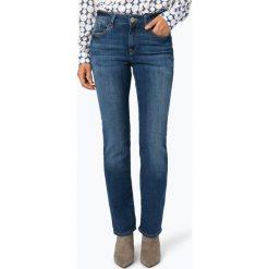 Mavi - Jeansy damskie – Kendra, niebieski. Niebieskie spodnie z wysokim stanem Mavi, z bawełny. Za 349,95 zł.
