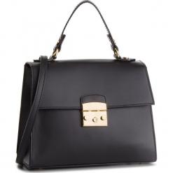 Torebka CREOLE - K10564  Czarny. Czarne torebki klasyczne damskie Creole, ze skóry, zdobione. Za 289,00 zł.