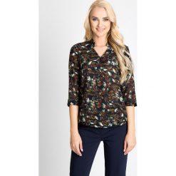 Bluzki asymetryczne: Bluzka z motywem kwiatowym QUIOSQUE