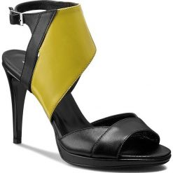 Rzymianki damskie: Sandały ANN MEX – 7148 01S+10L Czarny