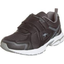 """Buty sportowe """"KR-Run"""" w kolorze czarnym. Brązowe buty sportowe męskie marki Reebok, z materiału. W wyprzedaży za 122,95 zł."""