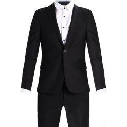 Burton Menswear London SKINNY Garnitur black. Czarne garnitury marki Burton Menswear London, z materiału. W wyprzedaży za 359,25 zł.