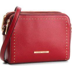 Torebka JENNY FAIRY - RS0207 Red. Czerwone torebki klasyczne damskie Jenny Fairy, ze skóry ekologicznej, zdobione. Za 79,99 zł.