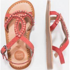Gioseppo Sandały coral. Pomarańczowe sandały chłopięce Gioseppo, z materiału. Za 189,00 zł.
