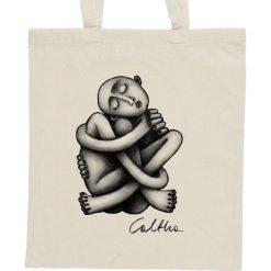 Shopper bag damskie: Zaplątanie – torba – 2 kolory