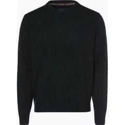Andrew James - Sweter męski z czystego kaszmiru, zielony. Zielone swetry klasyczne męskie Andrew James, m, z kaszmiru, z klasycznym kołnierzykiem. Za 649,95 zł.