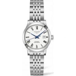 ZEGAREK LONGINES Record. Białe zegarki damskie LONGINES, szklane. Za 7130,00 zł.