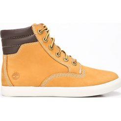 Timberland - Buty Dausette Sneaker Boot. Różowe buty sportowe damskie marki Timberland, z materiału. Za 529,90 zł.