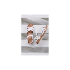 Rzymianki damskie: Sandały Oh My Sandals  Sandały skórzane na platformie  3443