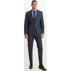 Koszule męskie na spinki: Eterna SUPER SLIM Koszula biznesowa blau