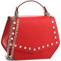 Torebka CREOLE - K10531 Czerwony. Czerwone torebki klasyczne damskie Creole, ze skóry. W wyprzedaży za 169,00 zł.
