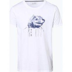 T-shirty męskie z nadrukiem: Tom Tailor Denim – T-shirt męski, czarny
