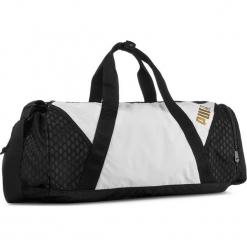 Torba PUMA - Ambition Barrel Bag 075460  Puma White/Puma Black 01. Czerwone torebki klasyczne damskie marki Puma, xl, z materiału. W wyprzedaży za 189,00 zł.