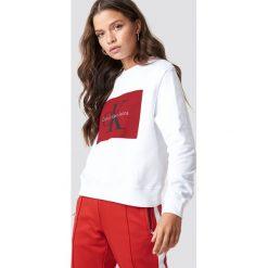 Calvin Klein Bluza Hebe True Icon - White. Białe bluzy rozpinane damskie Calvin Klein, z dzianiny. Za 404,95 zł.