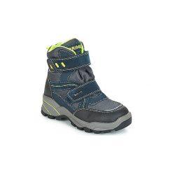 Śniegowce Dziecko Primigi  HUSKY GORE-TEX. Czarne buty zimowe chłopięce marki ecco, z gore-texu, na sznurówki. Za 329,00 zł.