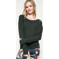 Reebok - Bluza. Czarne bluzy sportowe damskie marki Cardio Bunny, s, z nadrukiem, z bawełny, bez kaptura. W wyprzedaży za 139,90 zł.