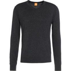 Swetry klasyczne męskie: BOSS Orange ALBONO Sweter dark grey