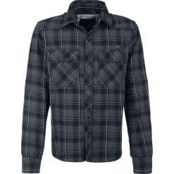 Brandit Checkshirt Koszula szary/czarny/biały. Białe koszule męskie na spinki marki Brandit, l, z aplikacjami, z bawełny, z długim rękawem. Za 164,90 zł.