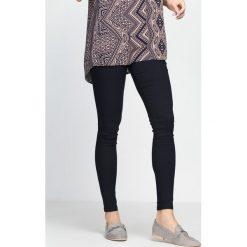 Spodnie damskie: Granatowe Spodnie Love Is Calling