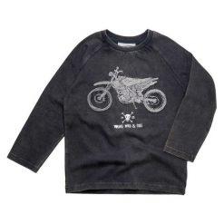 Gelati Chłopięca Koszulka Z Motocyklem, 128, Ciemnoszara. Czarne t-shirty chłopięce Gelati, z bawełny. Za 61,00 zł.