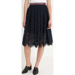 Replay SKIRT Spódnica trapezowa ink blue. Niebieskie spódniczki plisowane damskie marki Replay. Za 619,00 zł.