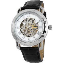 """Zegarki męskie: Zegarek """"Jamaika"""" w kolorze czarno-srebrno-białym"""