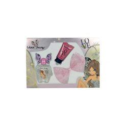 Winx Fairy Couture Flora zestaw Edt 100ml + 75ml Balsam + Spinka do włosów dla kobiet. Szare ozdoby do włosów marki Winx Fairy Couture. Za 30,49 zł.
