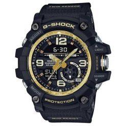 Zegarek Casio Męski GG-1000GB-1AER G-Shock Mudmaster czarny. Czarne zegarki męskie CASIO. Za 1131,99 zł.